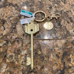 Disneyland Sleeping Beauty Castle Key Chain